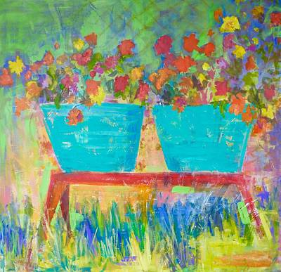 Painting - The Garden by Tracy Haines
