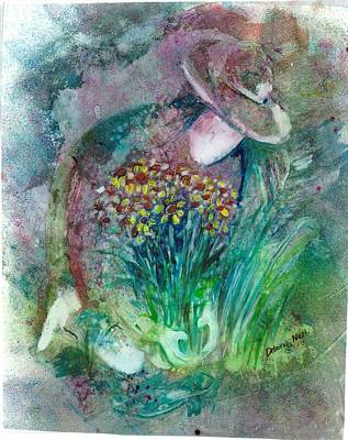The Gardener Art Print