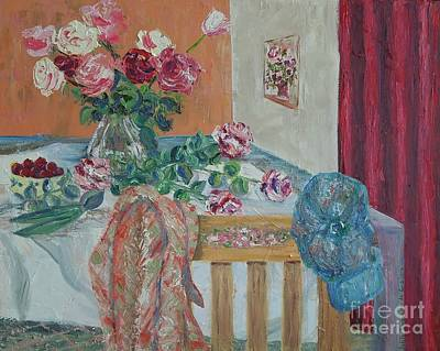 Painting - The Gardener's Table by Judith Espinoza