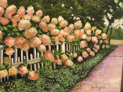 Painting - The Gardens  by Gloria Smith