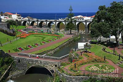 The Gardens Of Ribeira Grande Art Print
