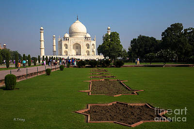 Photograph - The Gardens Of The Taj Mahal by Rene Triay Photography