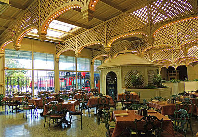 The Buffet Photograph - The Gardens Restaurant At Chattanooga Choo Choo by Marian Bell