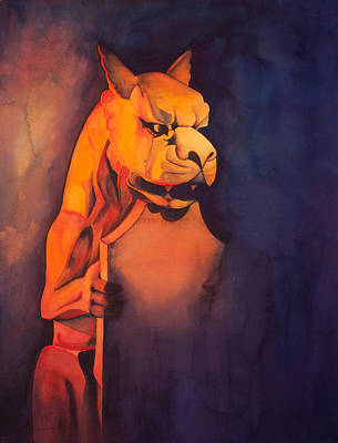 Painting - The Gardian by Sandra Lynn