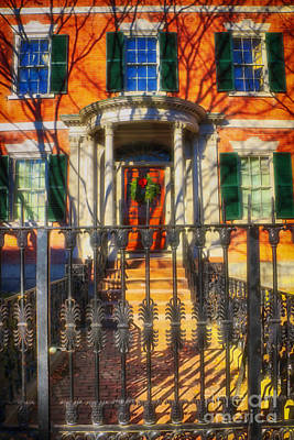 Travel Rights Managed Images - The Gardner-Pingree House 1804 Royalty-Free Image by Elizabeth Dow