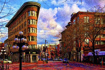 The Gastown Flat Iron Building Original
