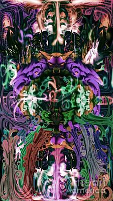 Digital Art - The Gate 2 by Reed Novotny