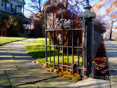 The Gate Art Print by Betsy Zimmerli