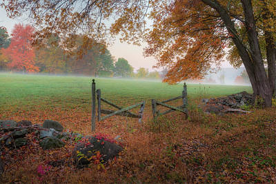 Pastoral Photograph - The Gate by Bill Wakeley