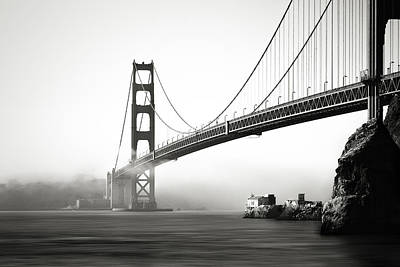 Photograph - The Gate Bridge by Eduard Moldoveanu