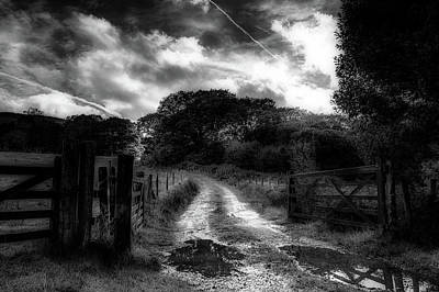 Gate Keeper Photograph - The Gate Keeper by Lance Reed