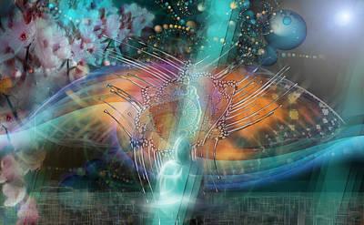 Digital Art - The Gate by Kenneth Armand Johnson