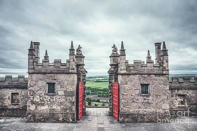 Open Door Photograph - The Gate Of Evermore by Evelina Kremsdorf