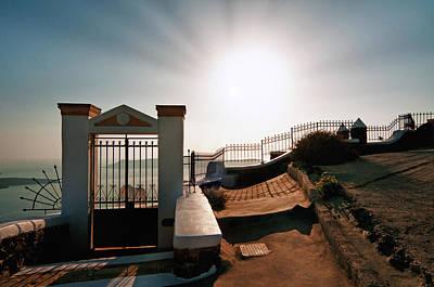Photograph - The Gate Of The Sun by Manolis Tsantakis