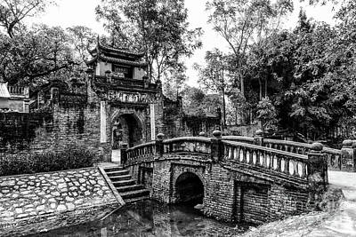 Photograph - The Gate Of Uoc Le Village by Peter Dang