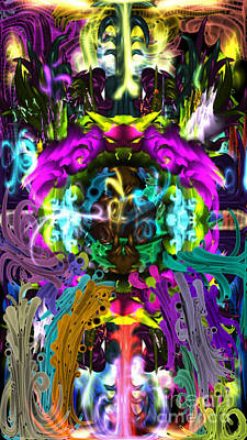 Digital Art - The Gate  by Reed Novotny