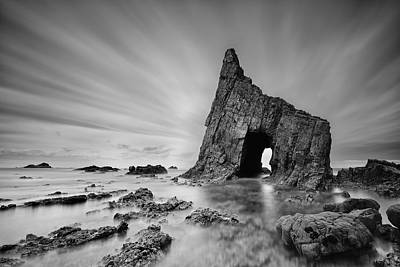 Arch Photograph - The Gate by Roberto Gra?a