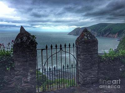Photograph - The Gate To Nowhere by Joan-Violet Stretch