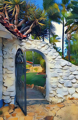 Digital Art - The Gate To Paradise by Karyn Robinson