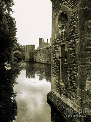 Photograph - The Gatehouse - Bishop's Palace Wells by Lexa Harpell
