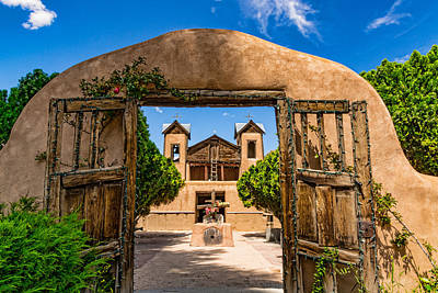 Chimayo Nm Photograph - The Gates Of Chimayo by Paul LeSage