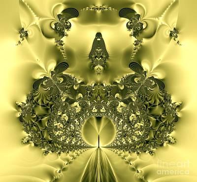 Digital Art - The Gates Of Heaven Fractal by Rose Santuci-Sofranko