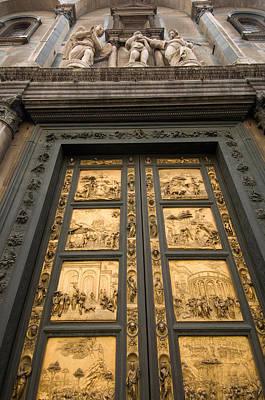 The Gates Of Paradise Doors Art Print by Joel Sartore
