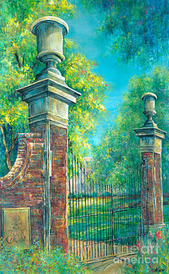 Iron Gate Painting - The Gates Of The Horseshoe II by Lindsey Fisher