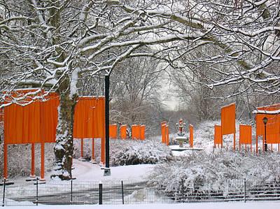 The Gates On Cherry Hill Art Print