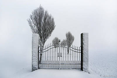 The Gates To Nowhere Art Print by Robert Lacy