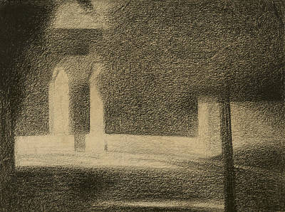 Drawing - The Gateway by Georges-Pierre Seurat