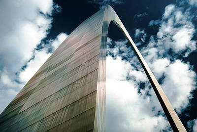 Photograph - The Gateway - Saint Louis Missouri by Gregory Ballos
