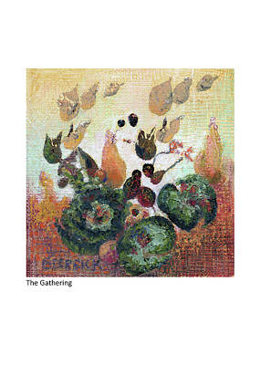 Mixed Media - The Gathering by Betsy Derrick