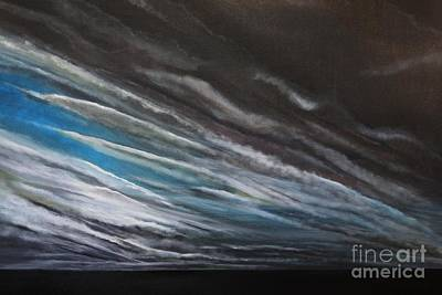 Painting - The Gathering Storm by Paul Horton