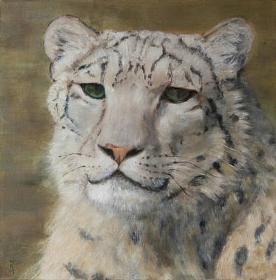 Painting - The Gaze by Kathryn Bell