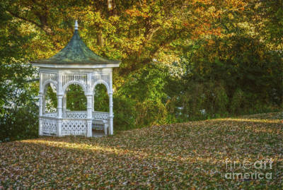 Photograph - The Gazebo by Debra Fedchin