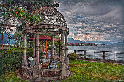 Photograph - The Gazebo by Hanny Heim