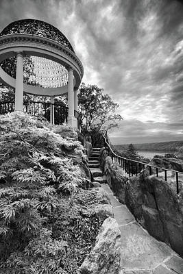 Photograph - The Gazebo Walkway by Jessica Jenney