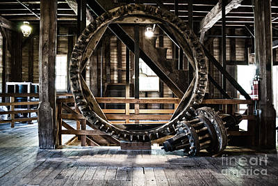 Industrial Photograph - The Gear by Pittsburgh Photo Company