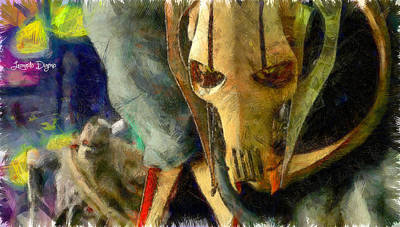 Knight Painting - The General Grievous - Pa by Leonardo Digenio