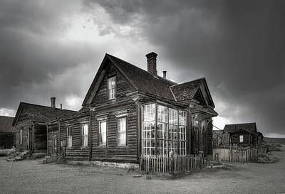 The General Store At Bodie Ghost Town Art Print