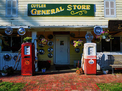 The General Store Art Print by Mountain Dreams