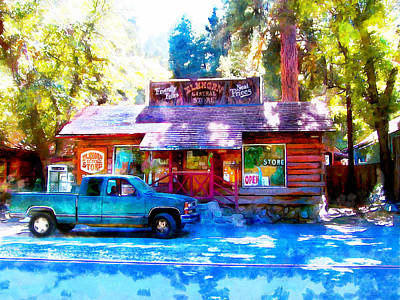 Digital Art - The General Store by Ruth Moratz