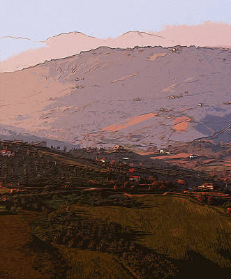 Painting - The Gentle Hills Of Italy  by Andrea Mazzocchetti