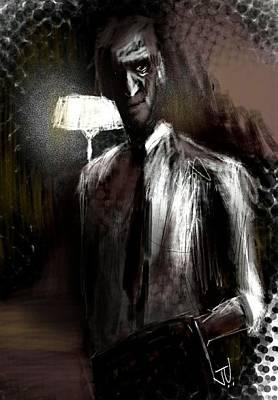 Digital Art - The Gentleman by Jim Vance