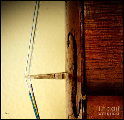 Violin Photograph - The Geometry Of String Theory   by Steven Digman
