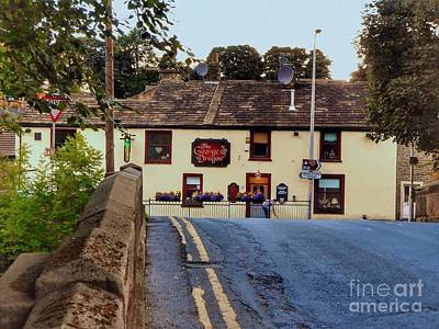 Photograph - The George And The Dragon At Pendle by Joan-Violet Stretch
