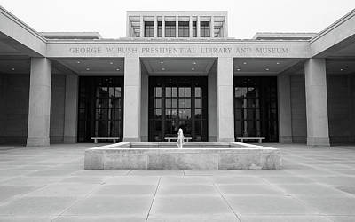 George Bush Photograph - The George W. Bush Presidential Library And Museum  by Robert Bellomy