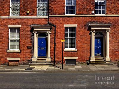 Photograph - The Georgian Terraces At Riversdale Place by Joan-Violet Stretch