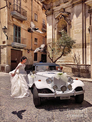 Photograph - The Runaway Bride.taranto. Italy by Jennie Breeze